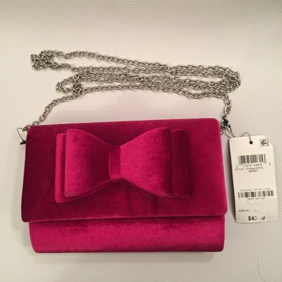 INC International Concepts Handbags - INC International Concepts Leesie Velvet Clutch